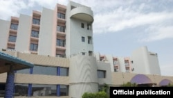 Отель Blu Radisson в Бамако, Мали, где были захвачены заложники