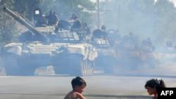 Десять лет российско-грузинской войне. Фотографии