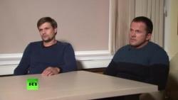 RT показал интервью с Бошировым и Петровым. Британия не поверила