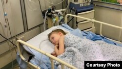 Дочка Ангелины в госпитале в Израиле