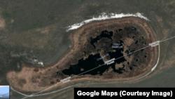 Озеро Сладкое на картах Google Maps
