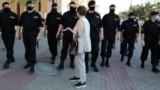 Belarus - Chain of solidarity with detained in Belarus. Minsk, 19Jun2020