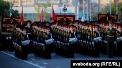 Репетиция парада на День независимости, Минск, 3 июля 2019 года
