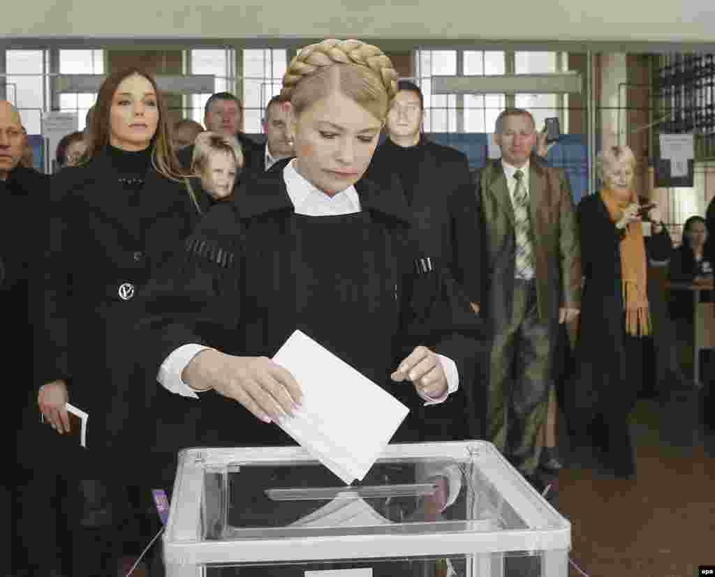 """Лидер партии """"Батькивщина"""", бывший глава правительства Украины Юлия Тимошенко"""