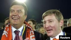 Ринат Ахметов с Виктором Януковичем