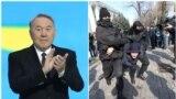Азия: задержания на митингах в Казахстане
