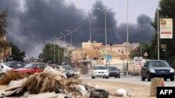 Libia Al Qubbah explosion Abdullah Doma, AFP file picture