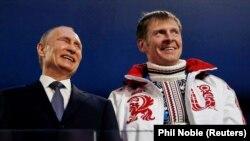 Путин с Александром Зубковым