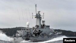 "Корвет шведских ВМС ""Стокгольм"""
