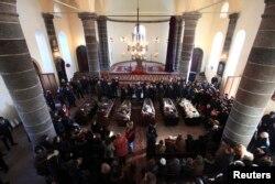 Похороны семьи Аветисян