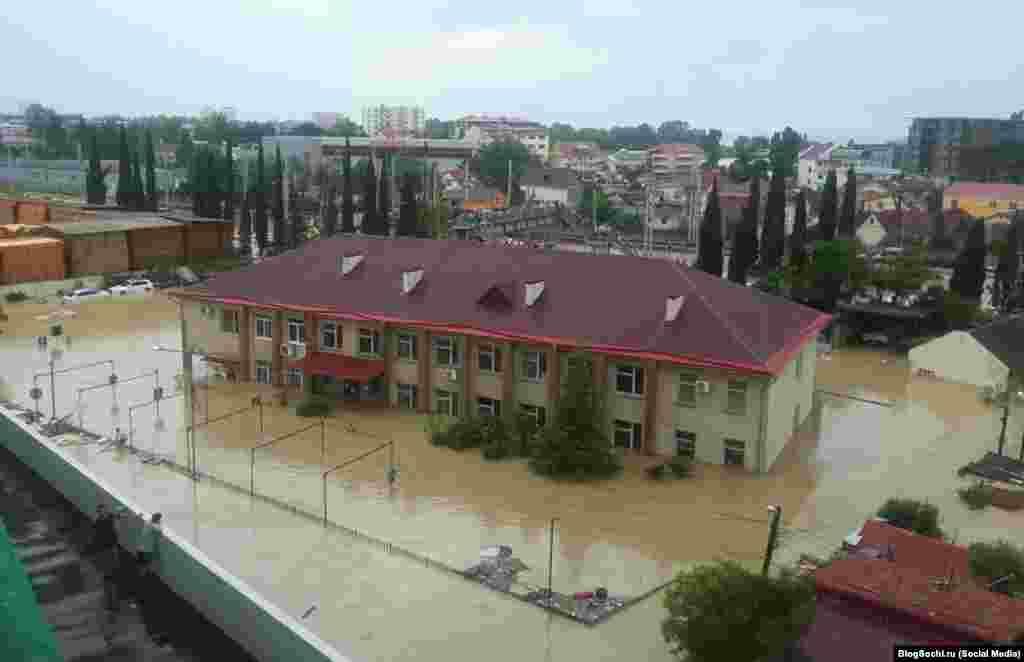 Наводнение в Кудепсте