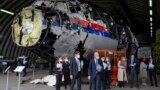Netherlands -- Viewing of reconstruction of MH17