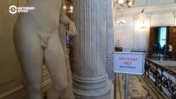 """От Эрмитажа потребовали убрать """"неприличные"""" скульптуры в зал 18+"""