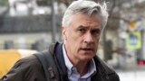 RUSSIA -- Founder of the Baring Vostok investment fund Michael Calvey arrives for a court hearing in Moscow, April 21, 2021