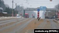Белорусско-российская граница (дорога Р43), 2 февраля 2017 года