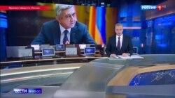 Украина вместо Армении: 10 дней российское ТВ молчало о протестах в Ереване, но вспоминало Евромайдан
