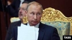 Путин на саммите ОДКБ в Душанбе