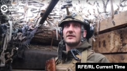 A Ukrainian frontline soldier says separatist forces in the city of Donetsk have been systematically firing on Ukrainian positions over the past month. (Donbas.Realities)