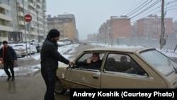 Андрей Кабища стал в районе местным героем