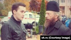 Александр Оршулевич и отец Николай (Александр Мамаев)