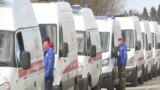GRAB - Ambulance Traffic Jams At Moscow Hospitals As COVID-19 Cases Surge