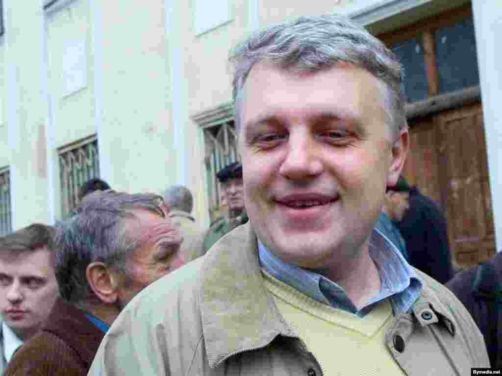 Павел Шеремет в Минске