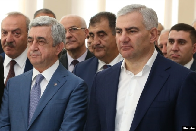 Серж Саргсян и Самвел Карапетян
