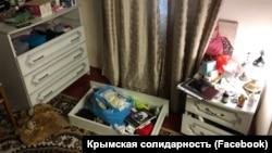 В доме Сейтумера Сейтумерова после проведения обыска, 11 марта 2020 года