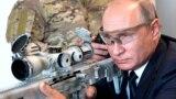 """Владимир Путин на военной выставке в центре """"Патриот"""", 19 сентября 2018 года"""