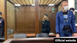 Участница Pussy Riot Мария Алехина в Тверском суде