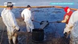 В Коми – экологическое бедствие из-за разлива нефти