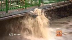 Половину Болгарии затопило из-за обильных дождей и разлива рек