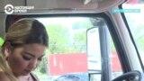 Минара-дальнобойщица: водит большегрузы и копит деньги на учебу