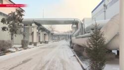 В Бишкеке в самые морозы произошла авария на ТЭЦ