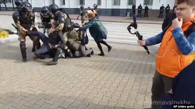 Задержания в Хабаровске 10 октября