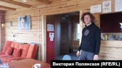 Лукас в своем доме в Бурятии
