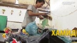 Энтузиаст перегоняет мусор в топливо для мотороллера