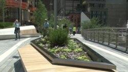 Либерти-Парк: сад в семи метрах над землей в память о жертвах теракта 11 сентября