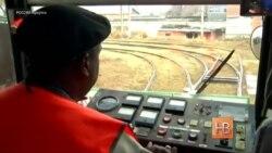 В Иркутске появился первый темнокожий вагоновожатый