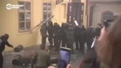 Новые карантинные ограничения спровоцировали массовые протесты в Европе