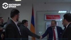 Блок Пашиняна выиграл выборы в парламент Армении
