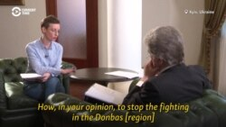 Interview With Ukrainian President Viktor Yushchenko: Ending The War In Donbas