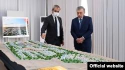 Узбекистан. Демонстрация проекта Нового Андижана. 17 июня 2021 года