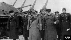 Тито в Москве в 1945 году