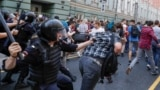 RUSSIA -- protests against pension reform. September 9, 2018.