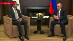 Башар Асад на встрече с Путиным заявил об окончании военной операции России в Сирии