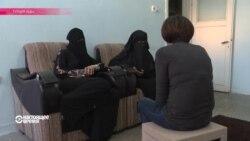 """Эфир 6 ноября: жены ИГИЛ - из боевиков в беженцы (эксклюзив НВ), """"Хотим не денег, а работы"""" – беженцы в Баварии, бомба и Шарли Эбдо"""
