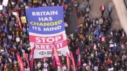 Anti_brexit protests in London teaser