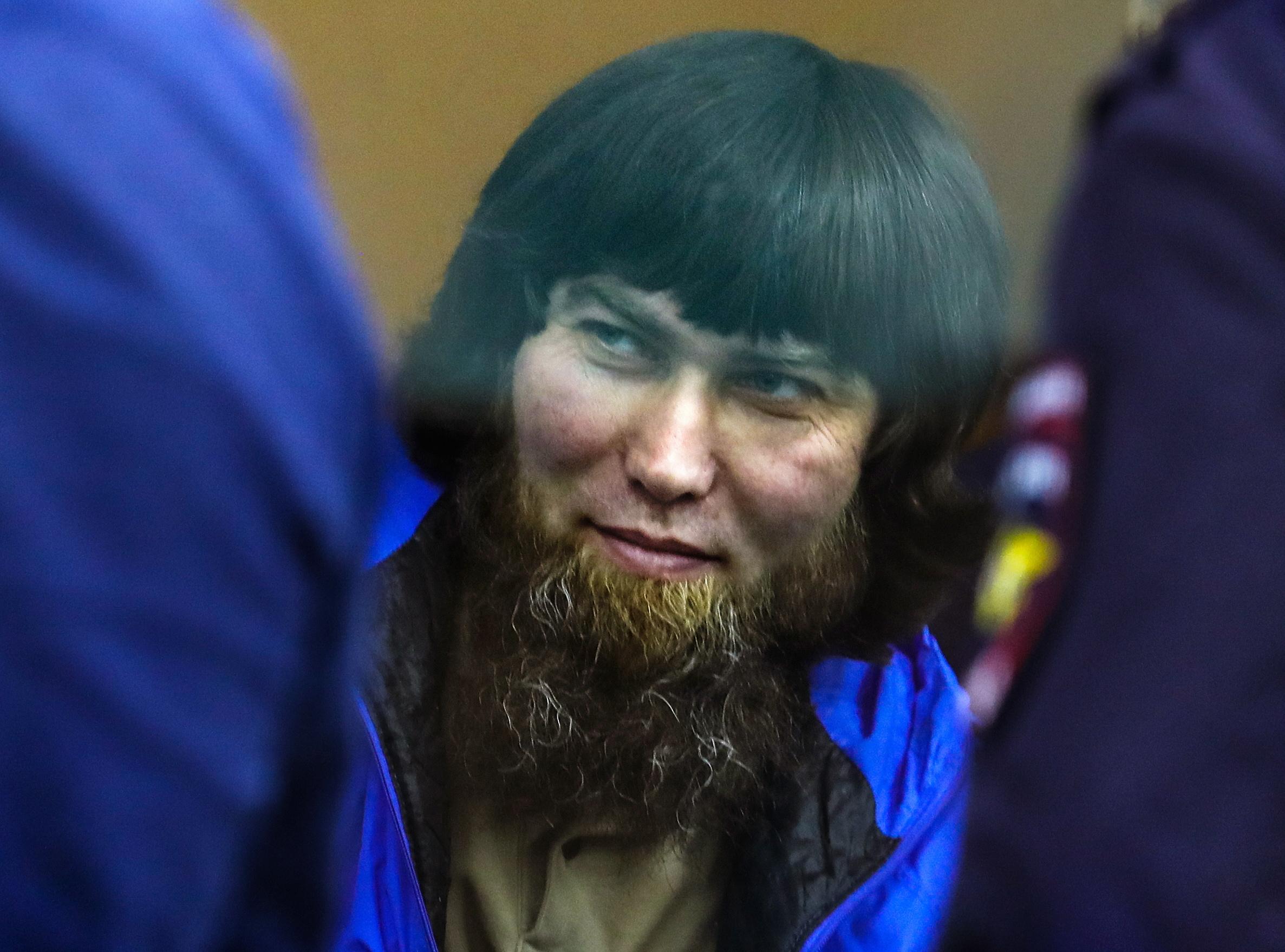 Анзор Губашев в Московском окружном военном суде. Фото: ТАСС
