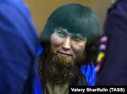 Anzor Gubashev in the Moscow District Military Court for sentencing on July 13, 2017